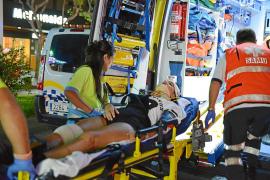 Una joven británica, en estado grave tras ser arrollada por una moto en Magaluf