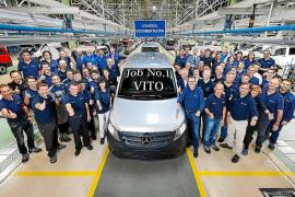 Mercedes- Benz Vitoria produce la primera nueva Vito