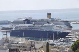 El PSIB alerta de la bajada del número de cruceros en Palma