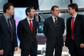 El Barça elige sustituto de Laporta entre Ingla, Rosell, Ferrer y Benedito