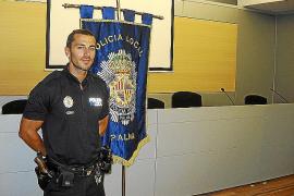 Un policía local de Palma salva la vida a dos personas en menos de 48 horas