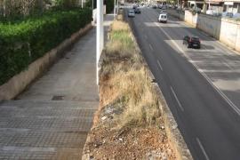 MÉS denuncia la privatización del servicio de eliminación de hierbas de Emaya