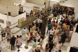Un cuadro de Miró resulta dañado por accidente en Menorca