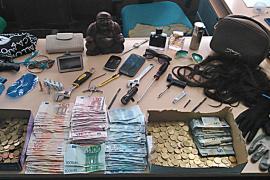 Detenido en Palma un ladrón especialista en robar cajas fuertes