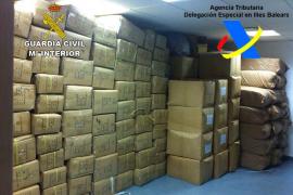 Intervenidos en Palma 86.000 artículos falsificados por valor de 10.500.000 euros