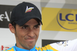 Contador se llevó la etapa reina y Brajkovic conservó el liderato