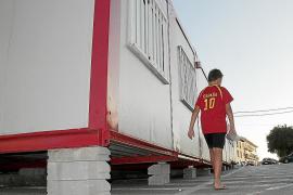 Los padres de alumnos del IES Santa Maria califican los barracones de «mal menor»