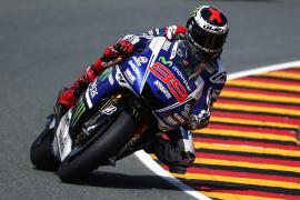 Jorge Lorenzo se siente fuerte y preparado para Silverstone