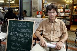 Alfons Martí celebra un ciclo de tres conferencias en la librería Jaume de Monzó de Palma