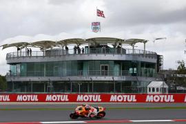 Marc Márquez empieza fuerte en Silverstone