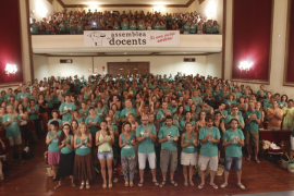 Los docentes convocan una jornada de huelga para el día 15 de septiembre