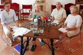 Misioneros y vecinos de La Real apuntan a un delito urbanístico con Son Espases