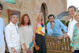 Actuación de Ainhoa Arteta en la Torre de Canyamel