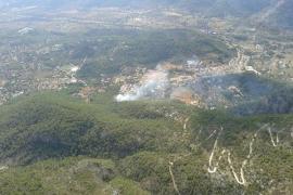 Un incendio forestal quema 0,129 hectáreas en la Comuna de Bunyola