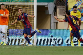 El Barça supera la resistencia del Villarreal con un gol de Sandro
