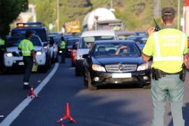 Retenciones en la Vía de Cintura por un accidente de tráfico