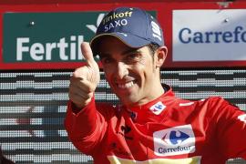 Martin gana la etapa y Contador se viste de rojo