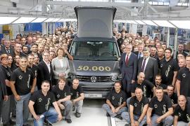 Volkswagen produce la unidad 50.000 del California