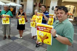 Palma acogerá este sábado un acto en apoyo al proceso soberanista catalán
