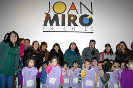 Excelente acogida a Miró en Chile con la exposición 'La fuerza de la materia'
