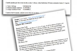 Los mails intervenidos acorralan al jefe de la Policía de Marratxí