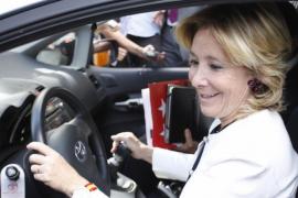 La Audiencia de Madrid califica como delito el incidente de tráfico de Aguirre