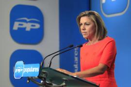 Cospedal ofrece a PSC, Ciutadans, UPyD y Unió una gran coalición en Cataluña