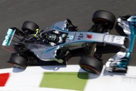 Rosberg lidera los segundos libres en Monza con Alonso en cuarta posición