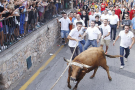Fornalutx celebró su tradicional 'correbou'