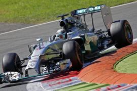 Hamilton por delante de Alonso en el último entrenamiento libre de Monza