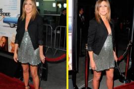 Jeniffer Aniston, embarazo a la vista a los 45 años