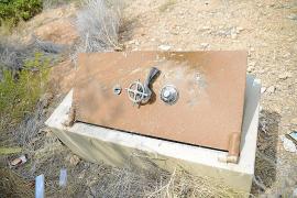 La Guardia Civil investiga el hallazgo en sa Pedra Sagrada de una caja fuerte forzada