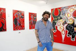 Domingo Zapata debuta con éxito en México con la exposición 'Matador'