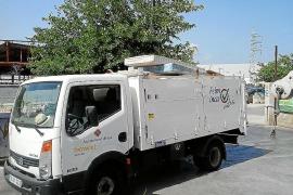 El área de Servicios retira cinco camiones de escombros del casco urbano en un solo día