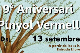 9º Aniversario Pinyol Vermell