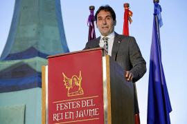 Onieva hace balance de su gestión en su último discurso como alcalde en la Creu de Santa Ponça