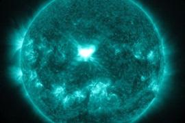 Registrada una intensa y fuerte llamarada solar