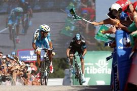 Froome le da un buen susto a Contador