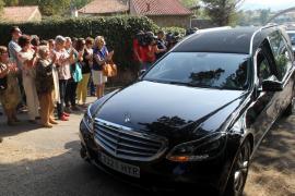 Amigos y familiares despiden a Emilio Botín en un funeral íntimo y discreto