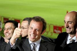 Sandro Rosell alcanza la presidencia del Barça con mayoría absoluta