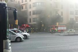 Incendio en la casa gallega de Palma