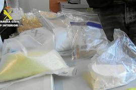 Los narcos detenidos en Magaluf transportaban la mercancía desde el Reino Unido