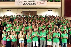 La Assemblea de Docents llama a la huelga el lunes para lograr un curso normal