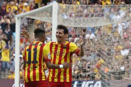 La sociedad Messi-Neymar, letal ante un Athletic sin pegada