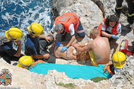 La joven herida en un acantilado del Dique del Oeste continúa ingresada