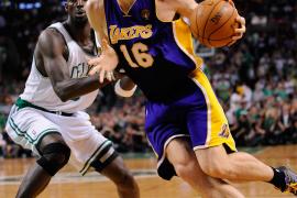Los Celtics se imponen a los Lakers