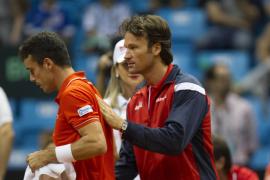 Bautista pierde y España desciende del Grupo Mundial de la Copa Davis