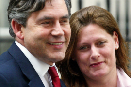 Sarah Brown publicará unas memorias sobre su vida en Downing Street
