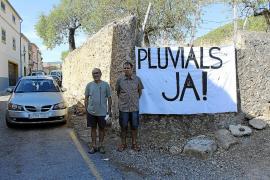 Cuatro años después, Alaró no ha concluido la dotación para pluviales pese al riesgo e inundación