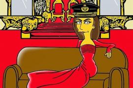 La Reina Letizia se convierte en una Simpson más de la mano de Alexandro Palombo